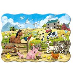 Castorland  MAXI 20 Puzzle Zvieriatka na farme