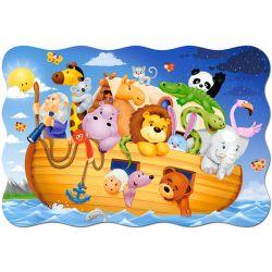 Castorland Maxi 20 Puzzle Noemova archa
