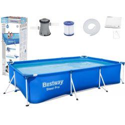 Bestway bazén 56411 s konštrukciou 300 x 201 x 66 cm