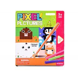 PIXEL – edukatívna číselná omaľovánka, Zvieratka