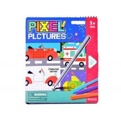 PIXEL – edukatívna číselná omaľovánka, Doprava