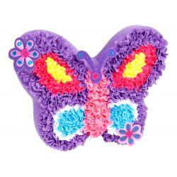Urob si: vankúš motýľ