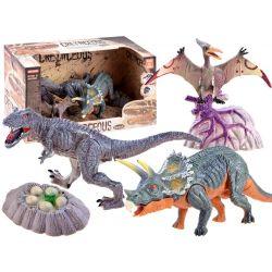 Ručne maľované dinosaury