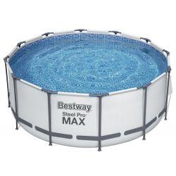 DOPRAVA ZADARMO Bestway 56420 bazén s konštrukciou 366 x 122 cm, 7v1 + rebrík