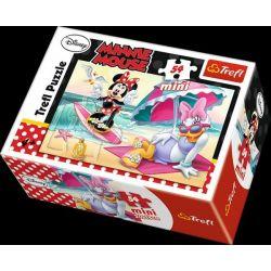 Puzzle Minnie & Daisy, 4 druhy