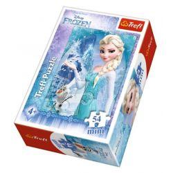 Puzzle Mini  Frozen , 4 druhy