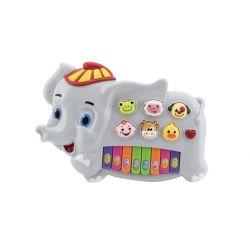 Piano slon so zvieratkami