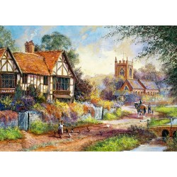 Castorland Puzzle Pôvab vidieka, 1500 dielov