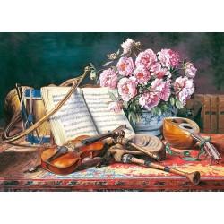 Castorland Puzzle A Musical Still Life, 1500 dielov
