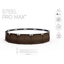 Bestway Steel Pro Max Rattan 366 x 100 cm 56709