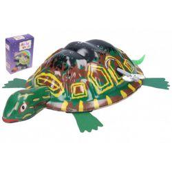 Naťahovacia kovová korytnačka