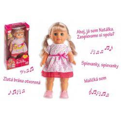 Bábika Natálka, hovorí slovensky