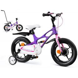 RoyalBaby detský bicykel SPACE SHUTTLE fialovy