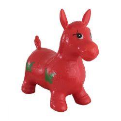 Hopsadlo skákací kôň červený