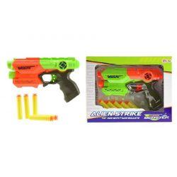 Pištoľ na penové náboje 5ks