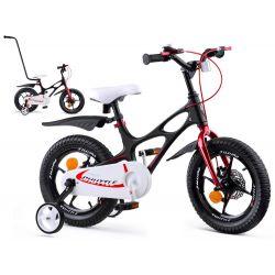 """RoyalBaby detský bicykel SPACE SHUTTLE, 14"""" čierny"""