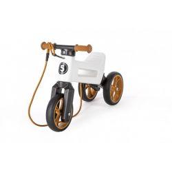 Funny Wheels odrážadlo Super Sport 2v1 biele