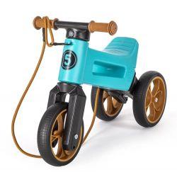 Funny Wheels odrážadlo Super Sport 2v1 tyrkysove