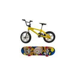 Prstový skateboard + bicykel