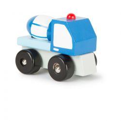 Small Foot: Detské drevené autíčko – Domiešavač 8 cm, 18m+