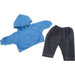Small Foot: Oblečenie pre bábiku 35-42 cm, chlapec