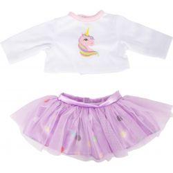 Small Foot: Oblečenie pre bábiku 35-42 cm, Jednorožec
