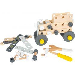 Small Foot: Drevená konštrukčná stavebnica Miniwob