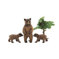Zvieratká ZOO 10 cm - medvede
