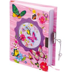 Denník so zámkom, Motýle