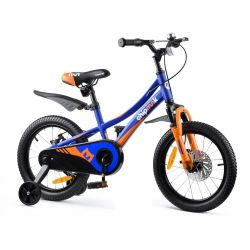 "RoyalBaby Detský bicykel Chipmunk  Explorer, 16"" + farba modra"