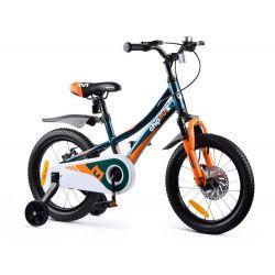 """RoyalBaby Detský bicykel Chipmunk Explorer, 16"""" zelený"""