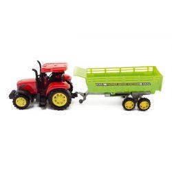Traktor s vlečkou na zotrvačník 35cm