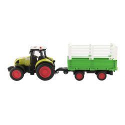 Traktor s vlečkou na zotrvačník 39cm