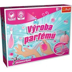 Výroba parfémov vedec.hra