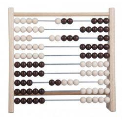 Počítadlo drevo/kov 24x23 cm
