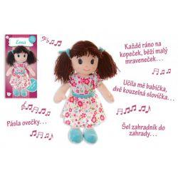 Bábika Ema, hovorí česky, 40cm
