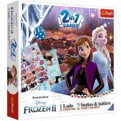 Frozen: Človeče nehnevaj sa + Hady a rebríky, 2v1