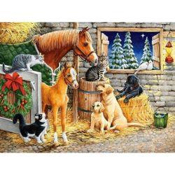 Castorland Puzzle Kamaráti zvieratka, 300 dielov