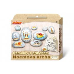 Maľovanie na kameny Noemova archa