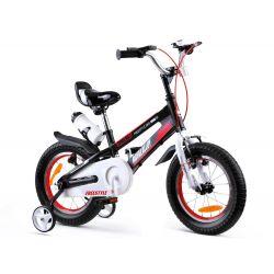 "RoyalBaby Detský bicykel Freestyle SPACE, 14"" čierny"