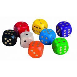 Drevené hracie kocky, 1ks