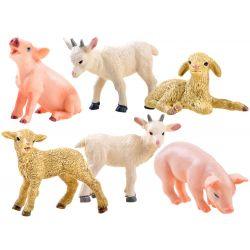 Figúrky domácich zvierat, 6 modelov