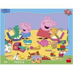 Puzzle deskové Peppa Pig