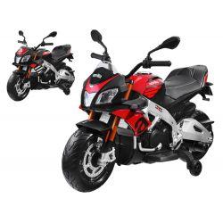 Detská elektrická motorka Aprilia Tuono V4, 2 farby