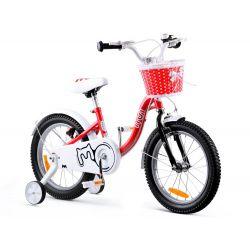 "RoyalBaby Detský bicykel Chipmunk MM, 16"", Červeny"