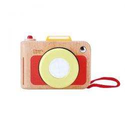 Drevený fotoaparát