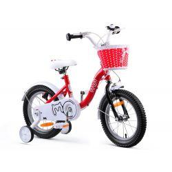 """RoyalBaby Detský bicykel Chipmunk MM, 14"""",Červený"""