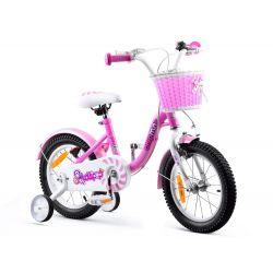 "RoyalBaby Detský bicykel Chipmunk MM, 14"", Ružový"