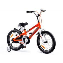 """RoyalBaby Detský bicykel Space, 18"""", Oranžovy"""