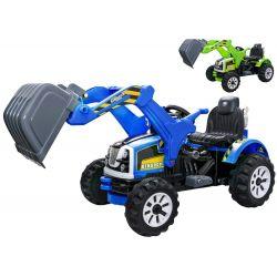 Elektrický traktor s lyžicou, 2farby